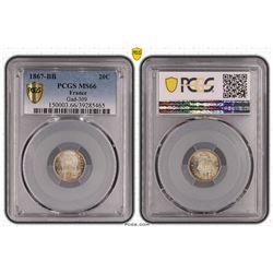 France 20 Cent 1867 Strasbourg  Mint