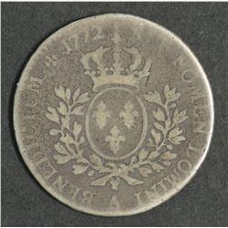 France 24 Sols 1772 Paris