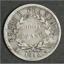 France Demi Franc 1812 A