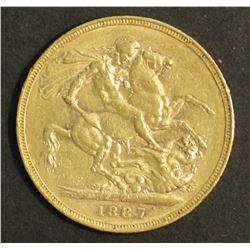 Great Britain 1887 2 Pound