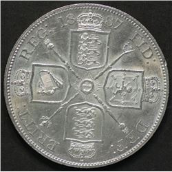 Great Britain 1887 Double Florin