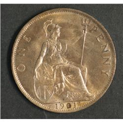 Great Britain 1901 Penny