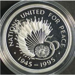 Great Britain 1995 2 Pounds UN Proof