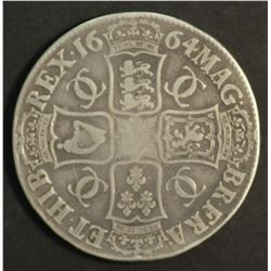 Great Britain Crown 1664