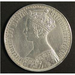 Great Britain 1847 Gothic Crown
