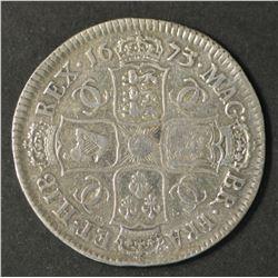 Great Britain Half Crown 1673