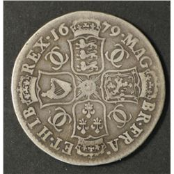 Great Britain Half Crown 1679