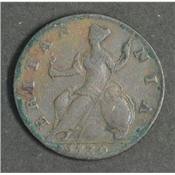 Great Britain Halfpenny 1739