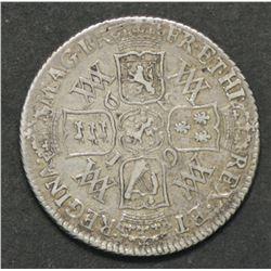 Great Britain Shilling 1693