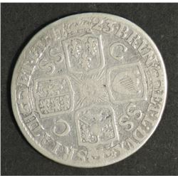 Great Britain Shilling 1723 French Arms at Date Rare