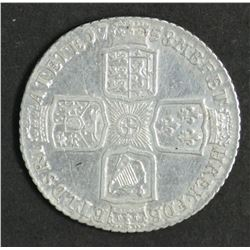 Great Britain Shilling 1758