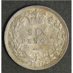Great Britain Shilling 1887