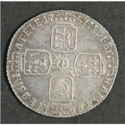 Great Britain Sixpence 1757