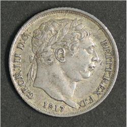Great Britain Sixpence 1817