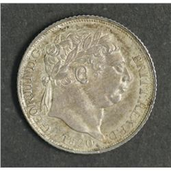 Great Britain Sixpence 1820