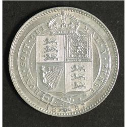 Great Britain Sixpence 1887