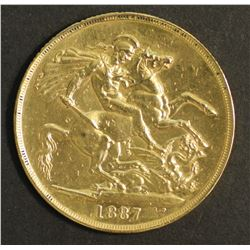 Great Britain Sovereign 1887