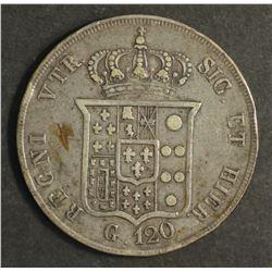 Italian States 20 Granos 1856 Very Fine
