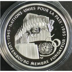 Luxembourg 100 Franc 1995 Silver Proof