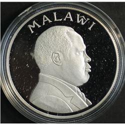Malawi 5 Kwacha 1995 Silver Proof