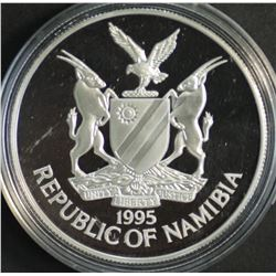 Namibia $10 1995 Silver Proof