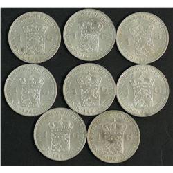 Netherlanda 1 Guilder 1929 (10 Coins)
