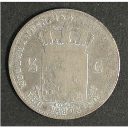 Netherlands Guilder 1847