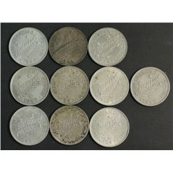 New Zealand 1949 Silver Crowns (10)