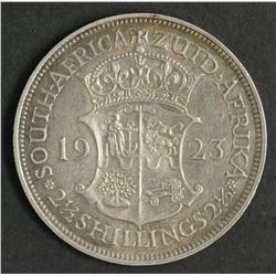 South Africa 1/2 Crown 1923