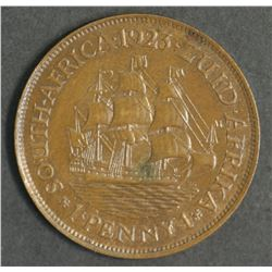 South Africa 1923 Penny,