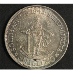 South Africa 1943 Shilling