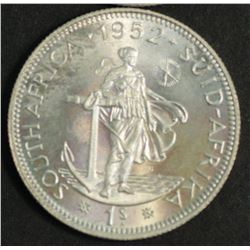 South Africa 1952 Shilling Proof