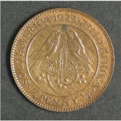 South Africa Farthing 1923
