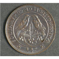 South Africa Farthing 1931