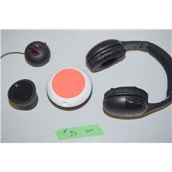 Google Items And Headphones