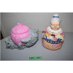 Ceramic Cookie Jars