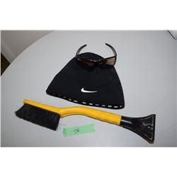 Foster Grant Sunglasses, Nike Skullcap