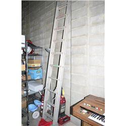 Extending Aluminum Ladder