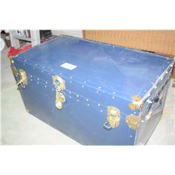 Steel Trunk (Contents Not Included)