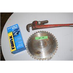 Pipe Wrench, RainX Wax