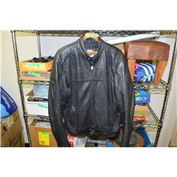 Harley Davidson Leather Coat XL Tall