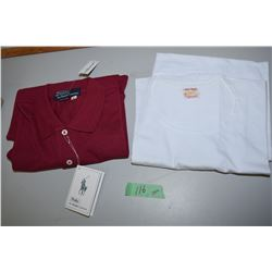 Large T-Shirt And Polo T-Shirt