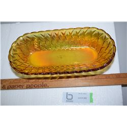 Carnival Glass Bowl/Tray
