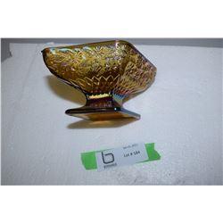 Carnival Glass Bowl (Pedestal)