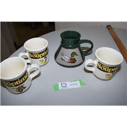 Canada Pottery, Nestle Cups Etc..