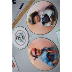 Eskimo Indian Plates (Doulton)