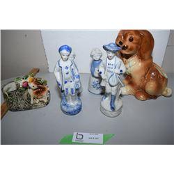 Figurines, Vase