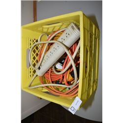 Box Of Electrical Cords/Power Bars