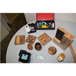 Woodenware, Toys, Games