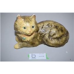 Chalk Ware Cat Figure